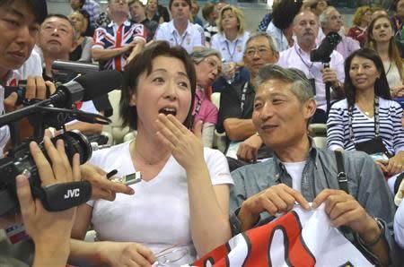 萩野公介選手の家族 父親と母親