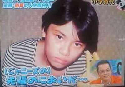 遠藤憲一 昔、小学校時代