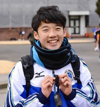 東海大学の駅伝 松尾淳之介選手