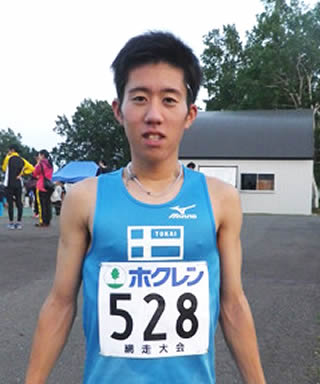 東海大学の駅伝 阪口竜平選手