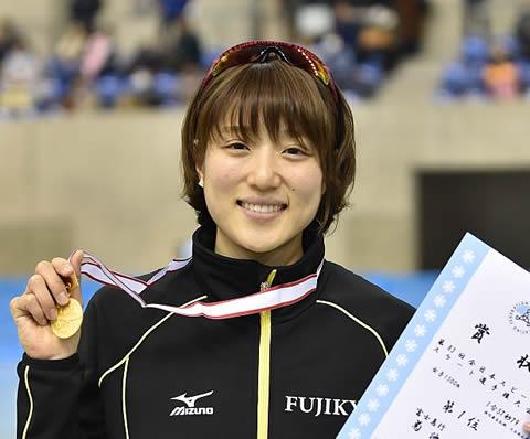 菊池彩花 スピードスケート選手