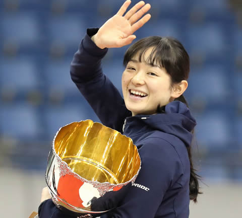 菊池悠希 スケート・ショートトラック選手