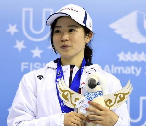 菊池萌水 スケート・ショートトラック選手