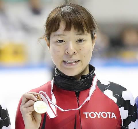 菊池純礼 スケート・ショートトラック選手