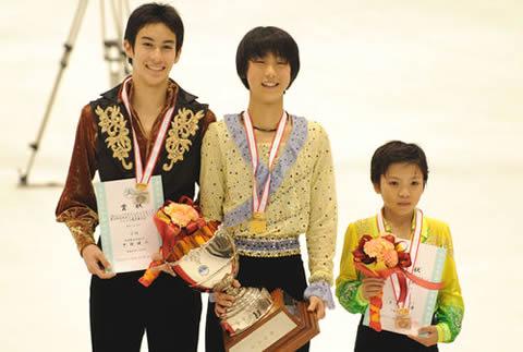 宇野昌磨 全日本ジュニア選手権時代の子供の頃