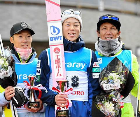 スキージャンプ選手 小林兄弟(小林潤志郎、小林陵侑)と葛西紀明