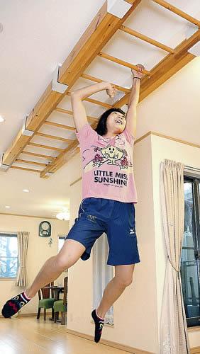 競泳女子の池江璃花子 自宅のうんてい