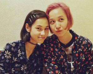 水原希子と妹の水原佑果