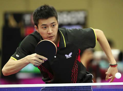 福原愛 結婚相手の江宏傑選手 卓球の試合中の姿
