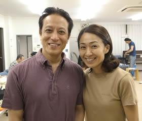 長野里美と夫の上杉祥三