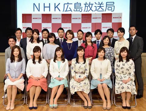 上原光紀アナ NHK新潟局から広島局へ