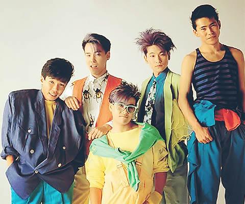 1980年代の「C-C-B」(左端:田口智治)