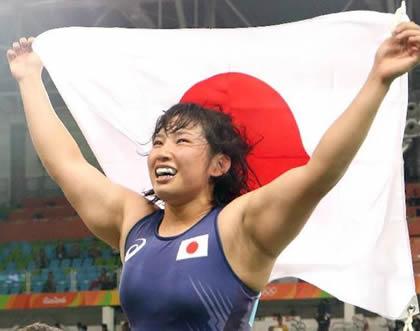 土性沙羅 リオデジャネイロ五輪・女子レスリング68kg級で金メダル